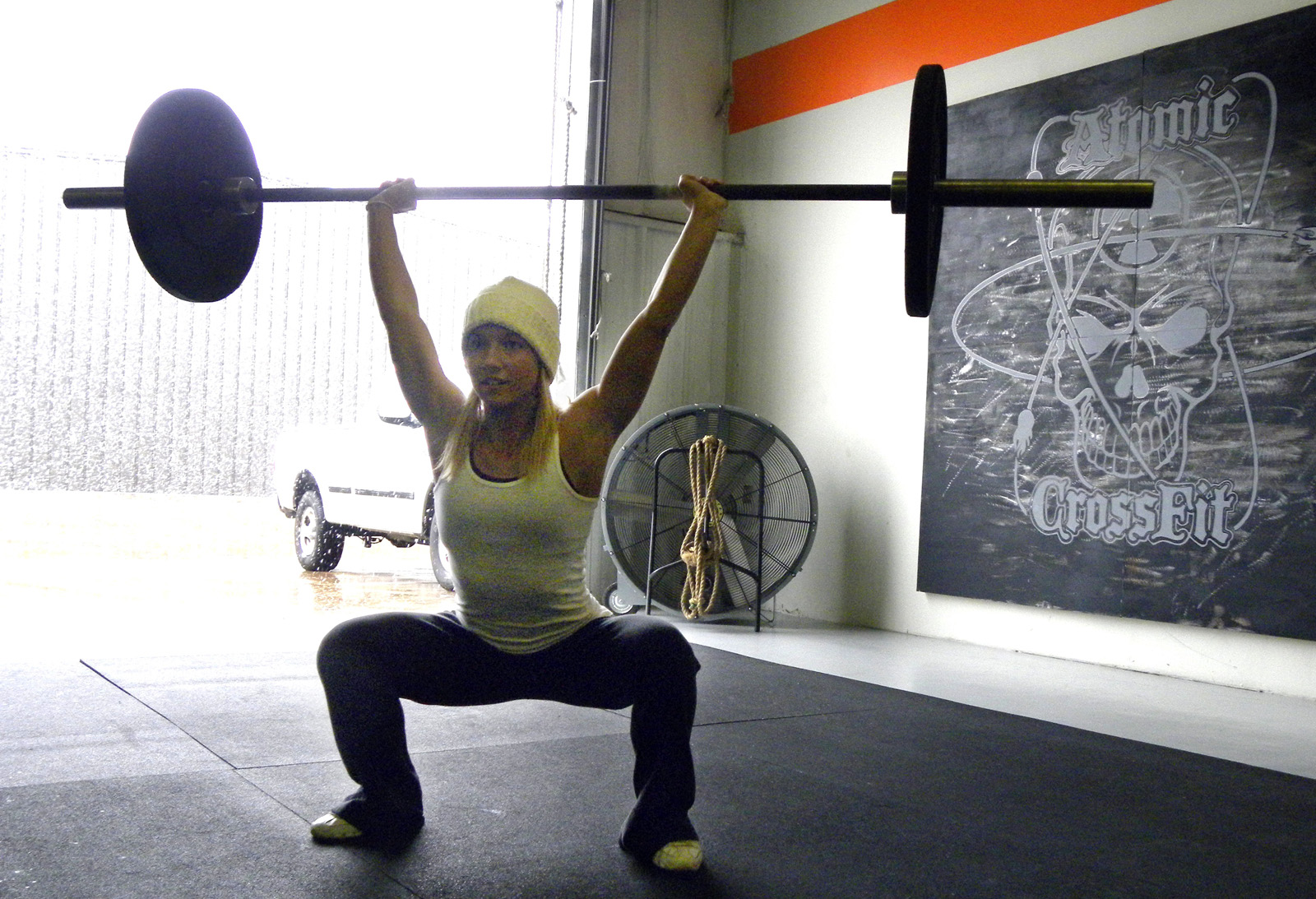 crossfit forging elite fitness tuesday 091208