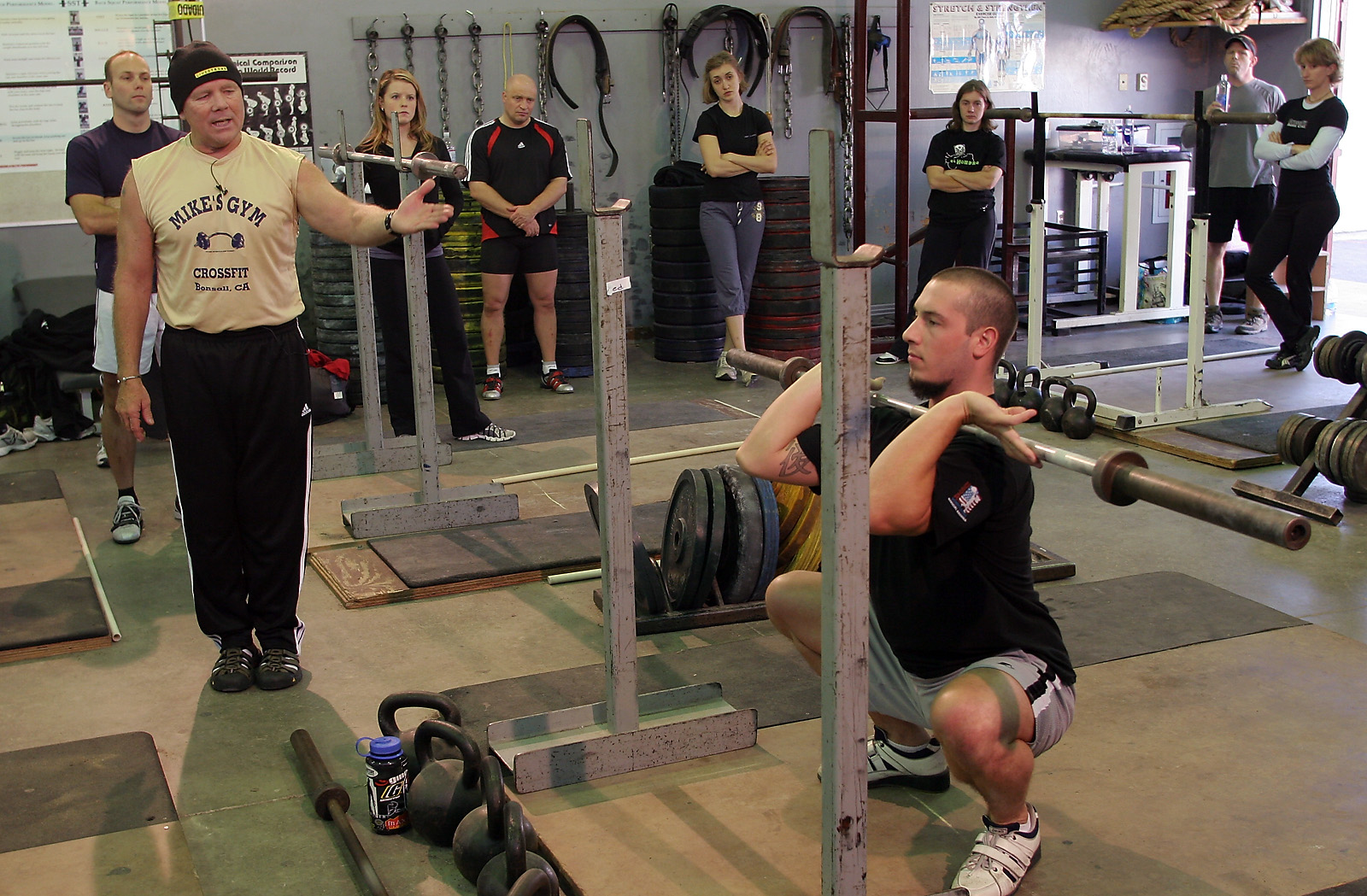 crossfit olympic sunday certification lifting