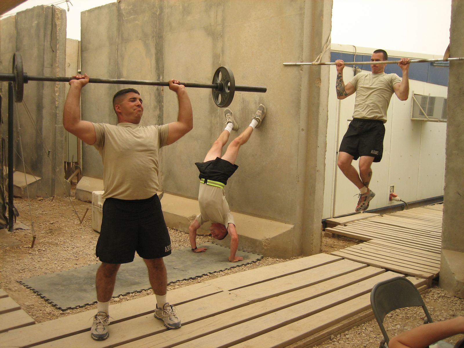 CrossFit: Forging Elite Fitness: Thursday 090507