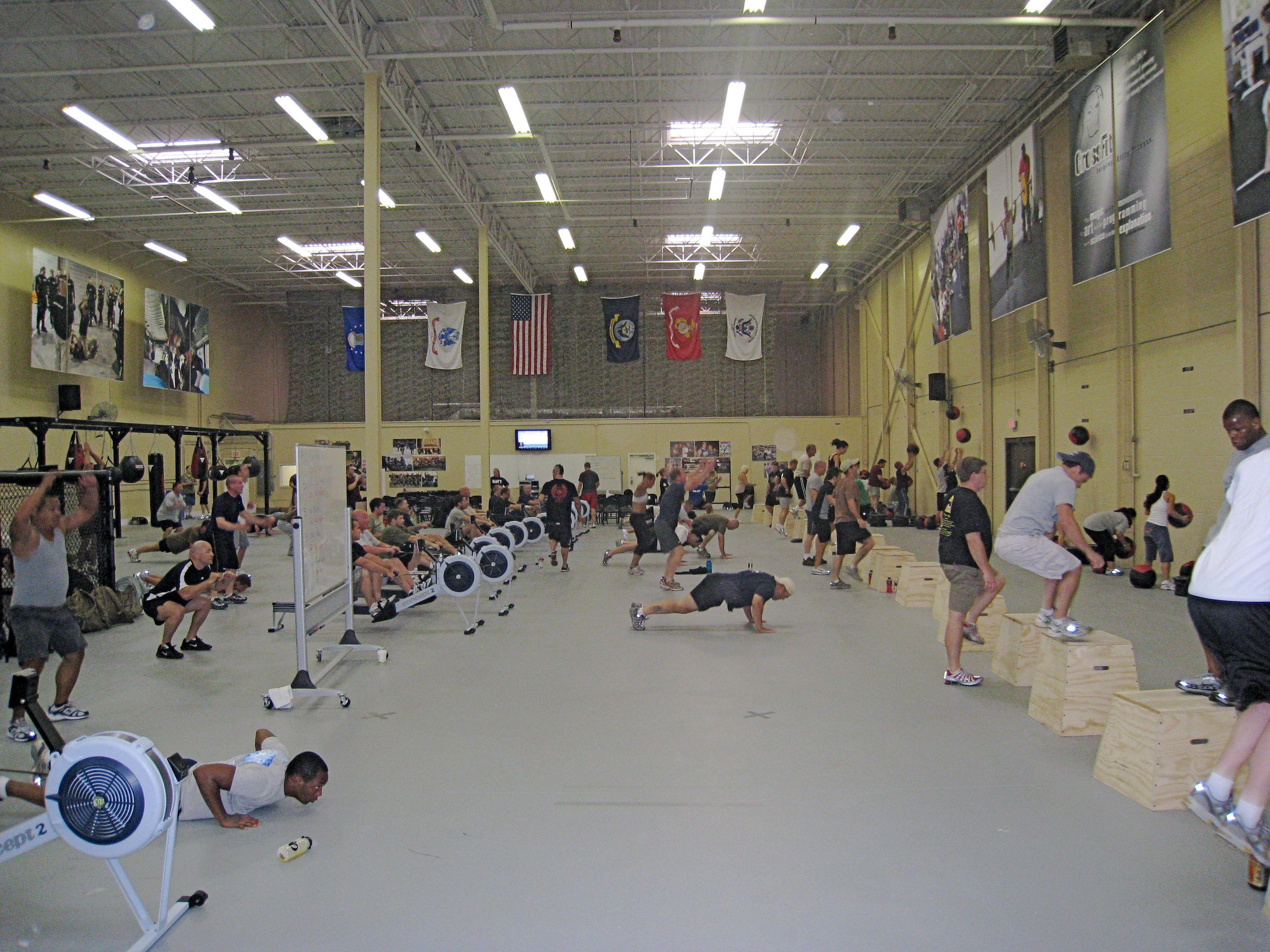 CrossFit: Forging Elite Fitness: Friday 080822