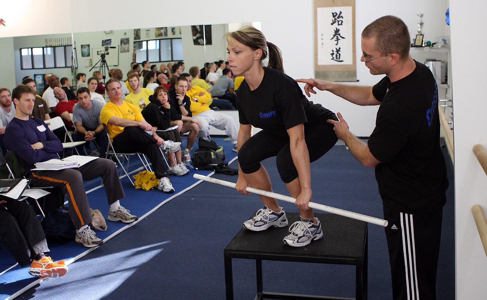 CrossFit: Forging Elite Fitness: Sunday 080210