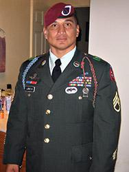 Sergeant Edwardo Loredo