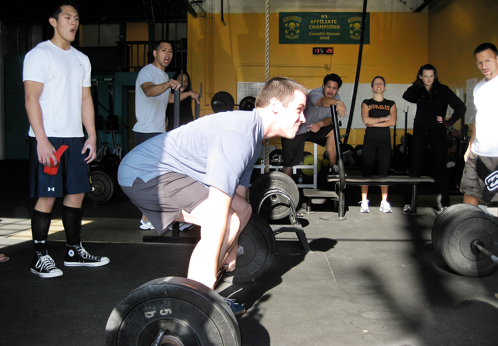 crossfit forging elite fitness sunday 081228
