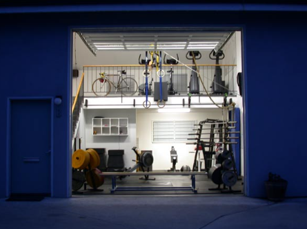 Awesome crossfit gyms home and garage setups box junkies intended