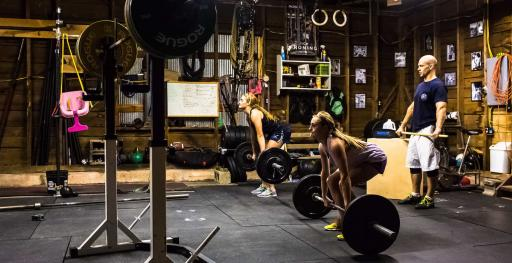 Monster garage gym it s not always the strongest lifter who wins