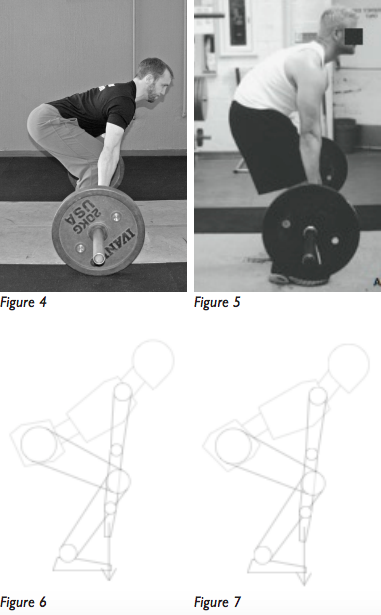 5bf5f53b153d06 Figures 4 and 5 show the two deadlift postures (normal spinal alignment and  full flexion)