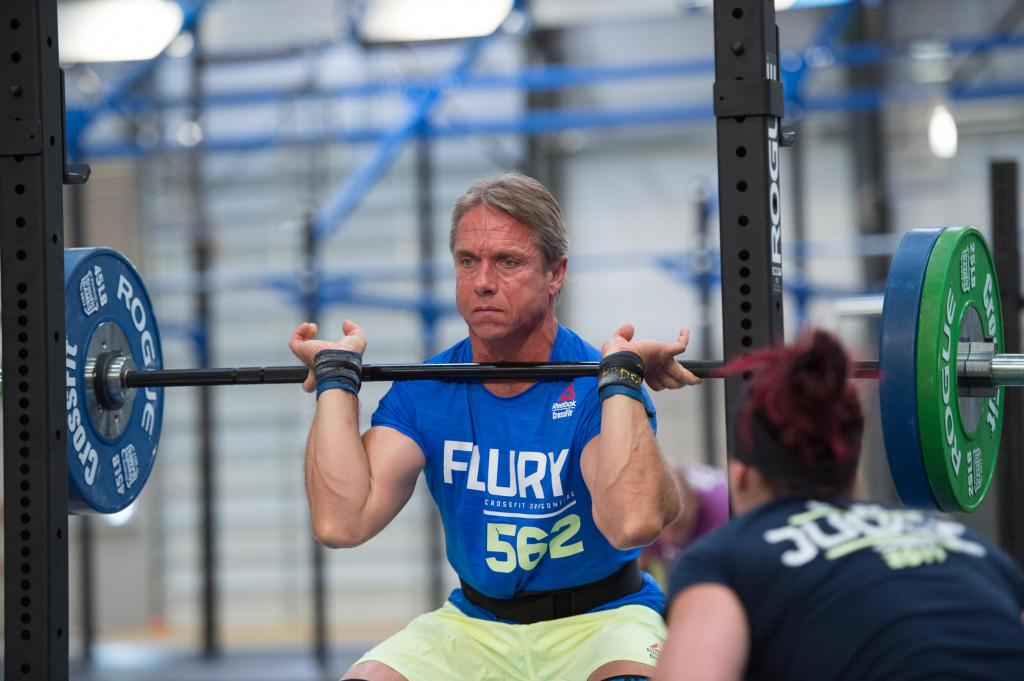 Serious contenders for crossfit games hard at work all over