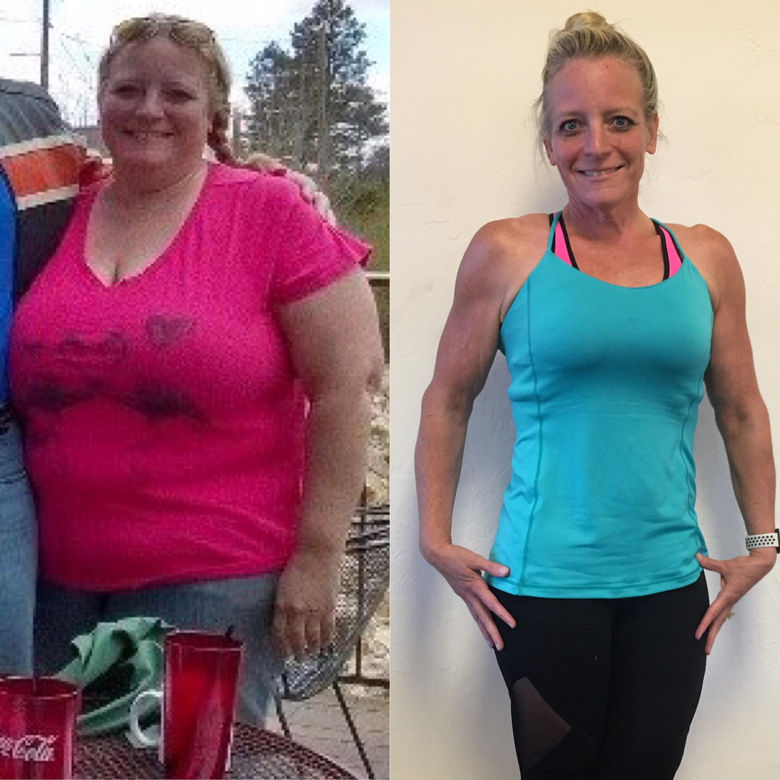 An open letter to those who need to lose weight the crossfit at her heaviest the author weighed more than 300 lb she lost more than half by working out and eating properly courtesy of kai rainey ccuart Gallery