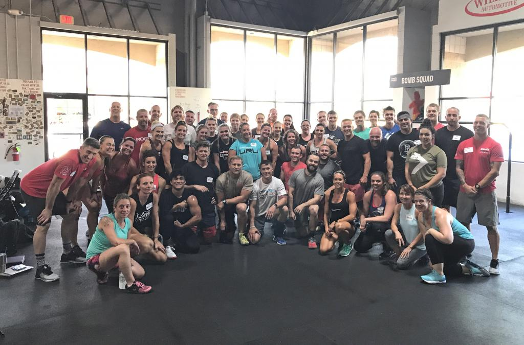 CrossFit: Forging Elite Fitness: Monday 170828