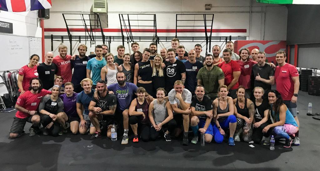 CrossFit: Forging Elite Fitness: Monday 171016