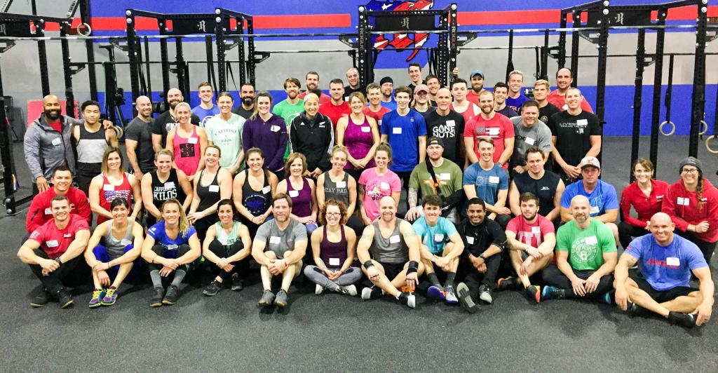 CrossFit: Forging Elite Fitness: Monday 180122