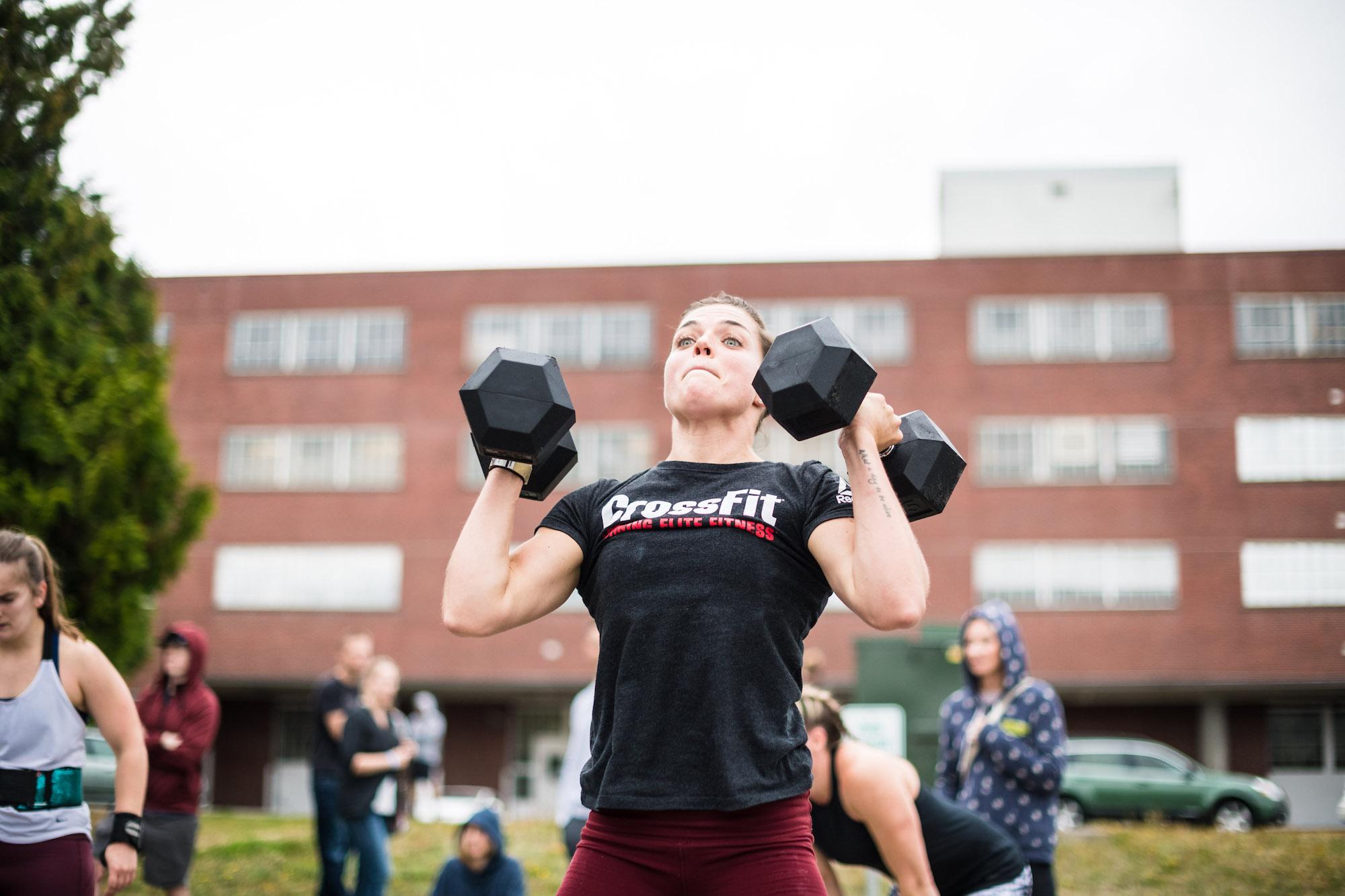 CrossFit: Forging Elite Fitness: Saturday 181013